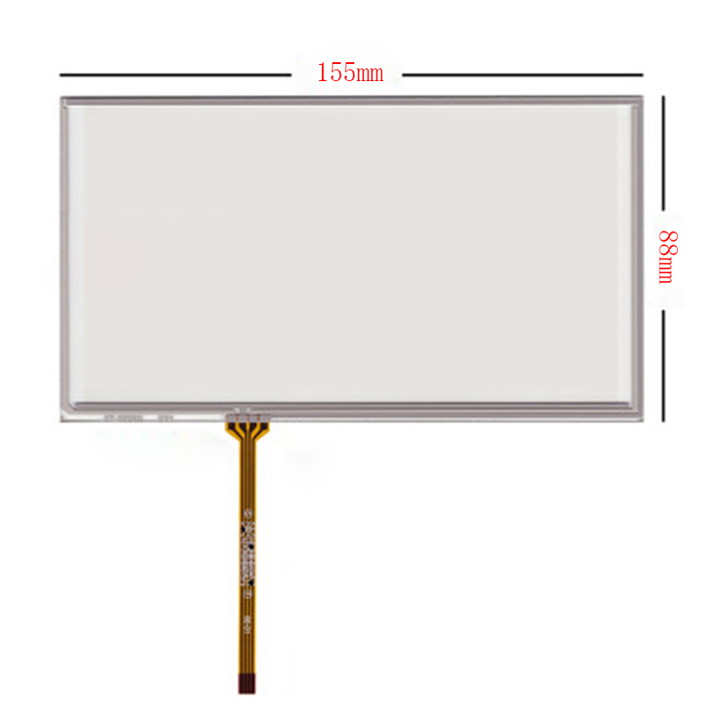 New 6.2'' Touch Screen Digitizer Panel For CLARION NX-501 VX-401 NX501 VX401