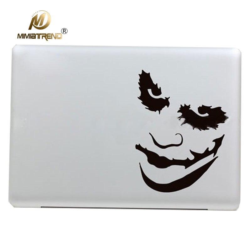 Mimiatrend New Hot Joker Vinyl Decal Sticker for Apple Macbook Pro / Air 11 13 15 inch Laptop Case Cover Cartoon Skin Sticker