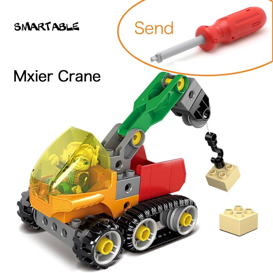 Smartable Engineering Crane Big Building Blocks Toys Set ...
