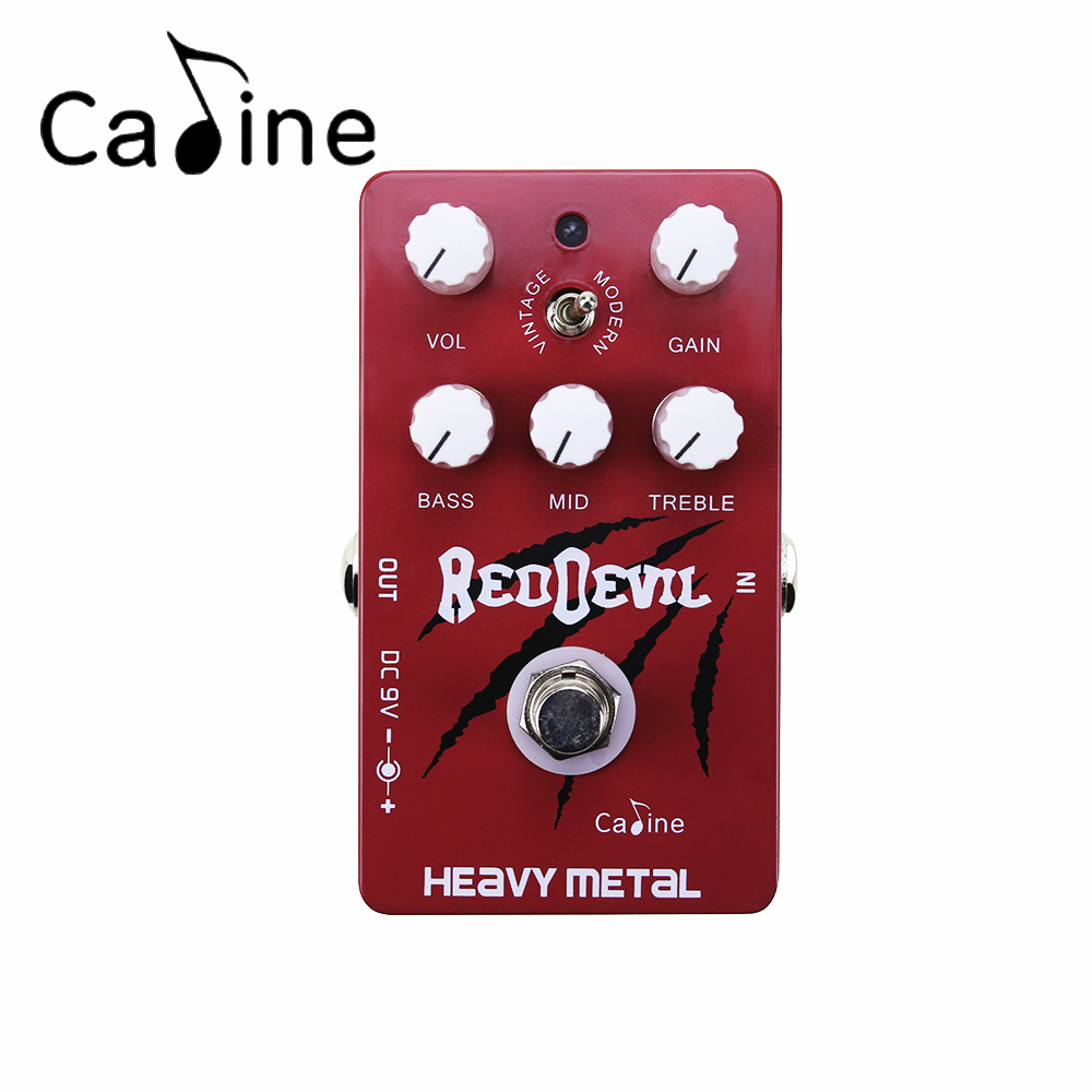Caline CP-30 Heavy Metal Electric Guitar Effect Pedal With Vintage and Modern Style Similar to Tube Sound