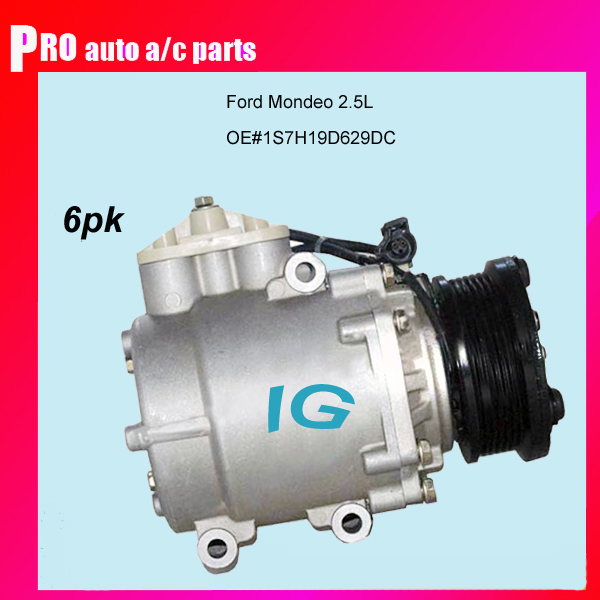 Brand New Ford auto ac compressor for car Ford Mondeo 2.5L 1S7H19D629DC