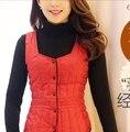 Down vest Women autumn and winter slim small innerwear liner design thin short down coat vest female