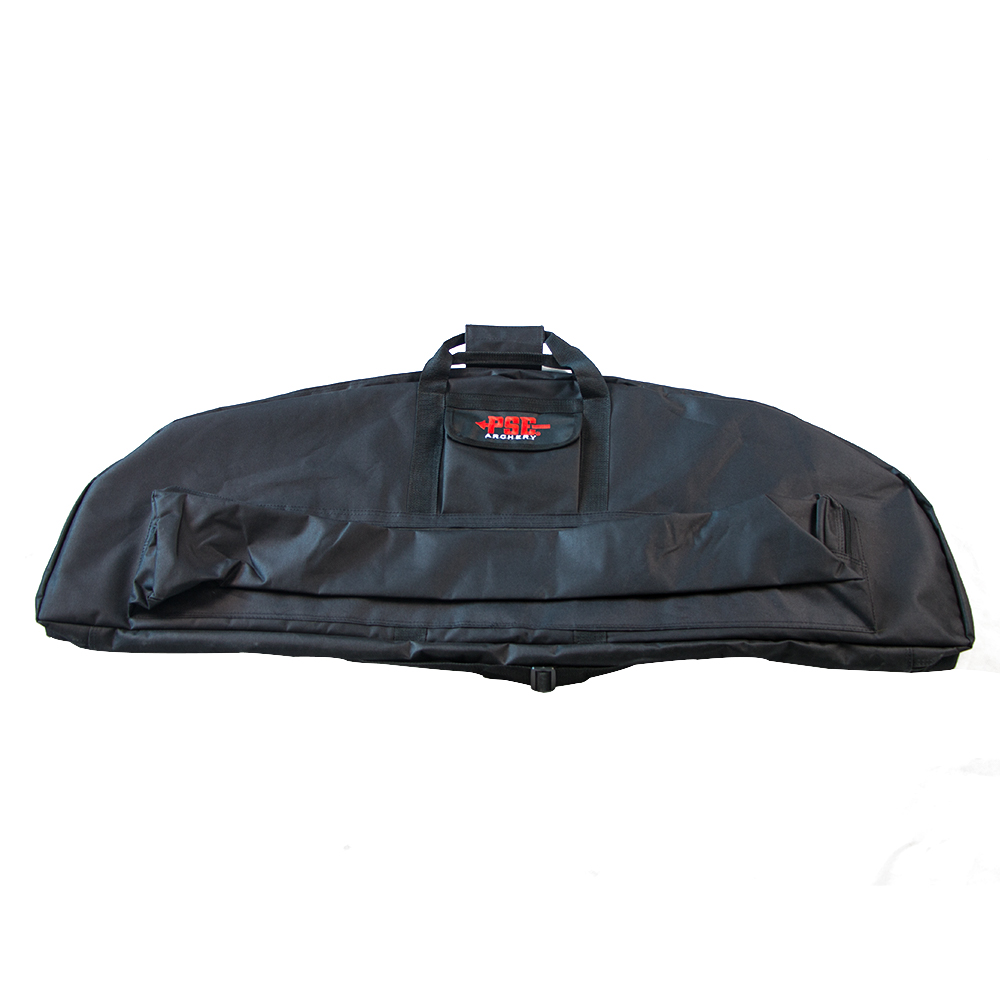 Black Hunting Compound Bow Bag Case 119cm*47cm Bow Arrow Holder Archery Shooting Handle Portable Canvas