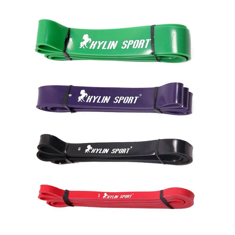 KYLIN SPORT Set of 4 Natural latex 41 Strength Resistance Bands Fitness Walk Powerlifting Pull Up Strengthen Muscles гимнастические кольца kylin sport as98a