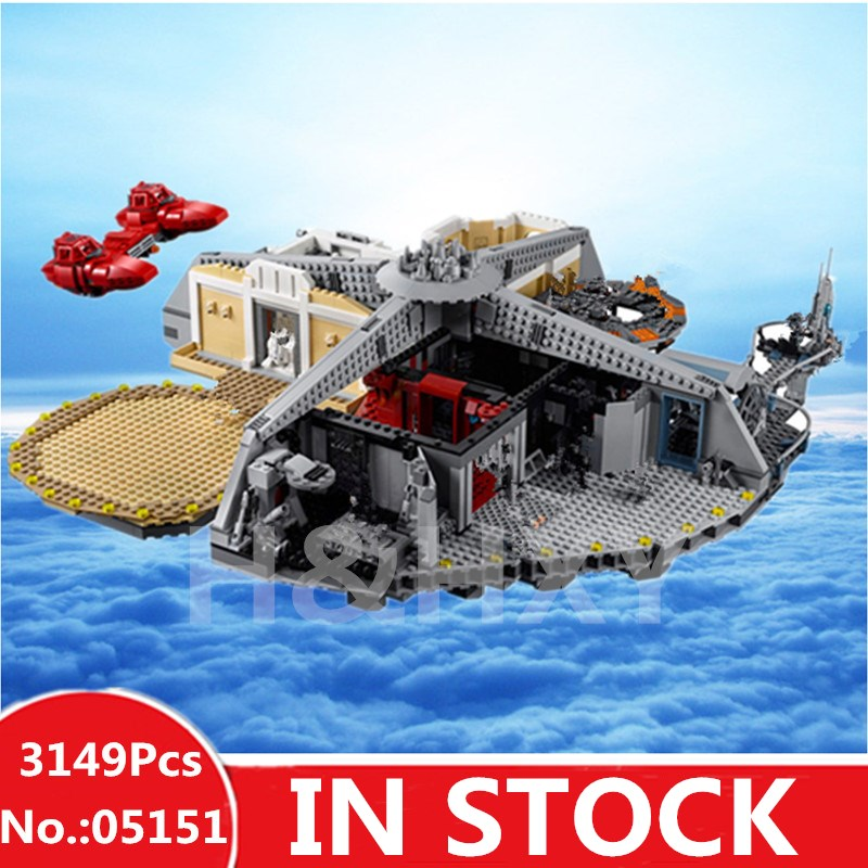H&HXY 05151 Star Plan Series The Legoingly Wars 75922 Cloud City Set Building Blocks Bricks New Kids Toys Christmas Gifts Model 482pcs star space the ja quadjumper set model building blocks bricks toys kids gifts compatible legoings star series wars 75178