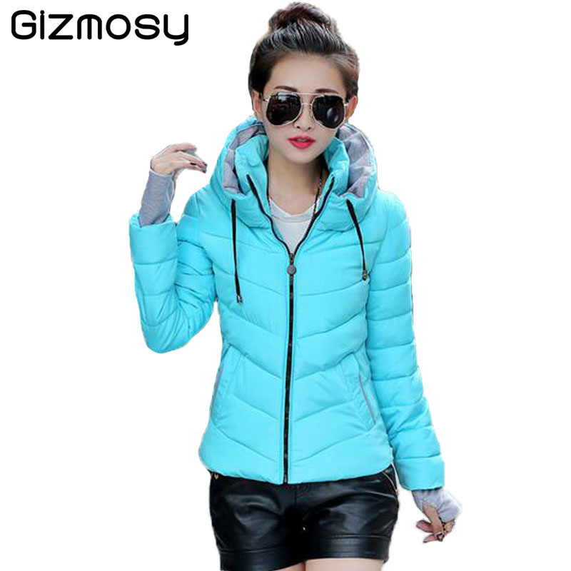 Aliexpress.com : Buy 1PC Winter Jacket Women Short Cotton Parka ...