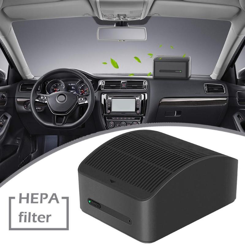 新車空気清浄機車空気清浄機自動車インテリア空気の新鮮な PM2.5 フィルタークリーンホルムアルデヒドルームオフィス使用  グループ上の 家電製品 からの ホームオートメーションモジュール の中 2
