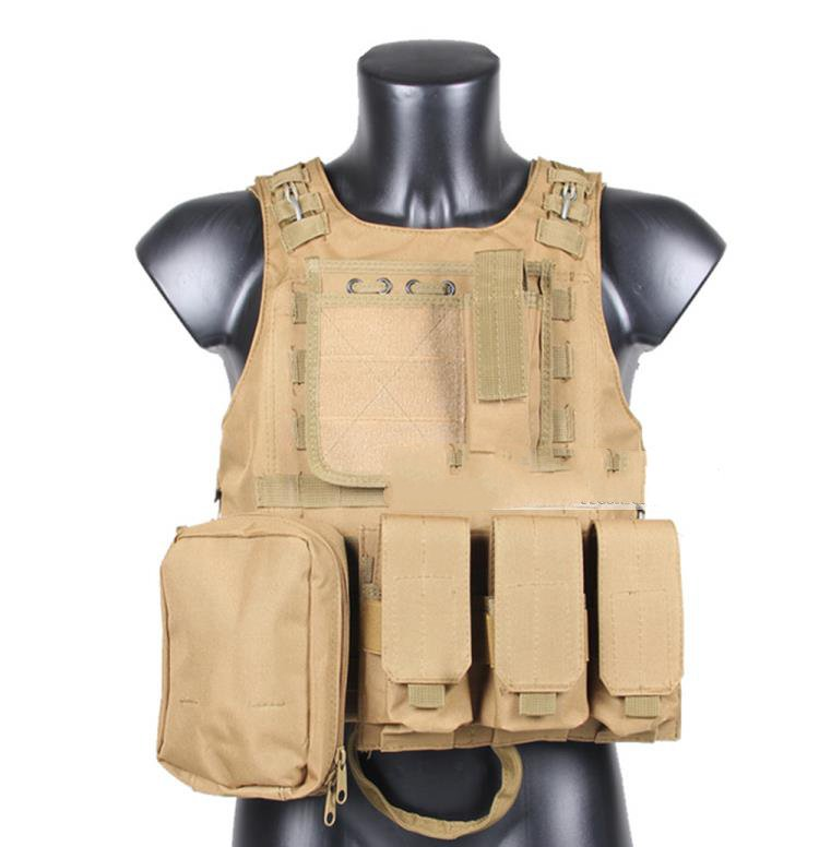 The descendants of the sun with the tactical vest field special forces tactical equipment combat amphibious vest upgraded version of the cs special tactical vest vest american field equipment thickening tactical vest