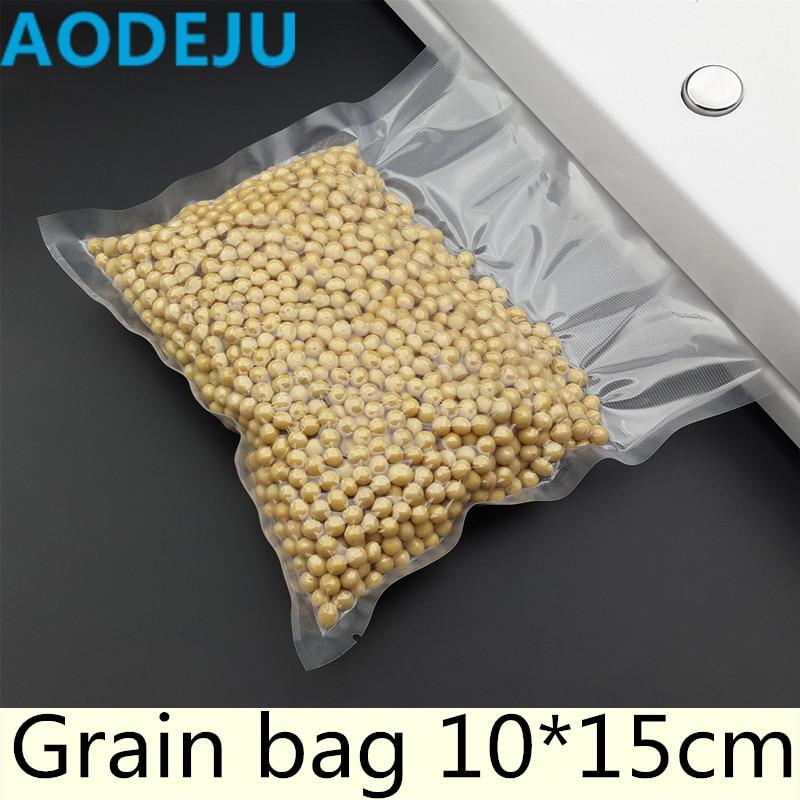 10*15cm Piece Vacuum Bag Fresh - keeping Bag Food Preservation Bag Storage Bag fresh keeping vacuum wine bottle stopper black transparent