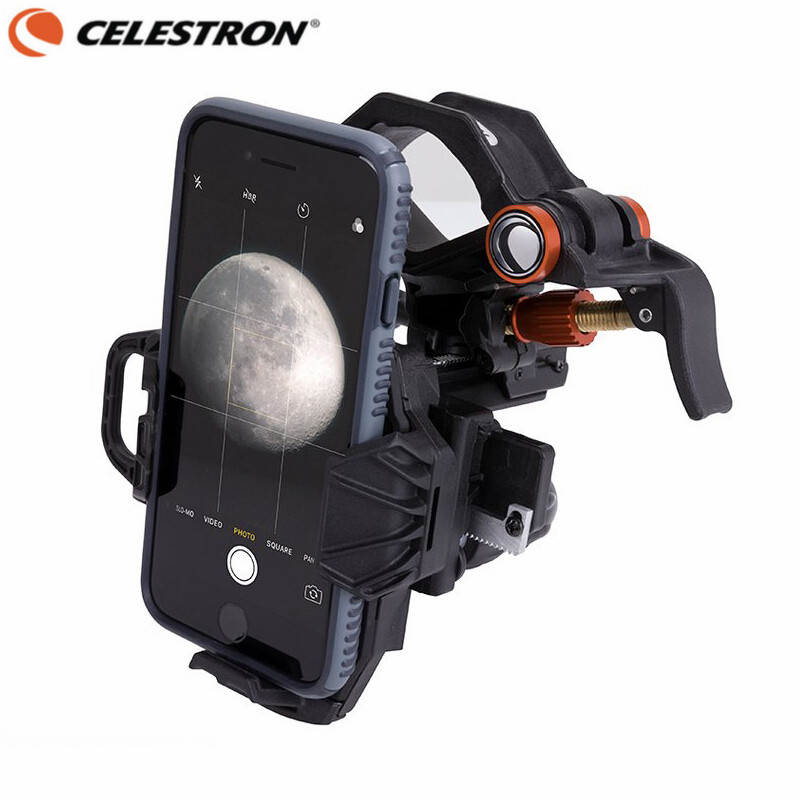 Celestron NexYZ 3-Axis Universal Smartphone Adapter for Astronomical Telescope Monocular Binoculars Spotting Scope Microscope universal cell phone adapter mount binocular monocular spotting scope telescope and microscope accessories