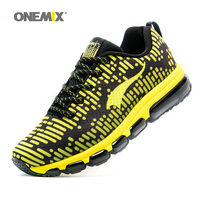 ONEMIX New Men Running Shoes For Women Nice Athletic Trainers Zapatillas Sport Shoe Max Cushion Shox Outdoor Walking Sneakers 46