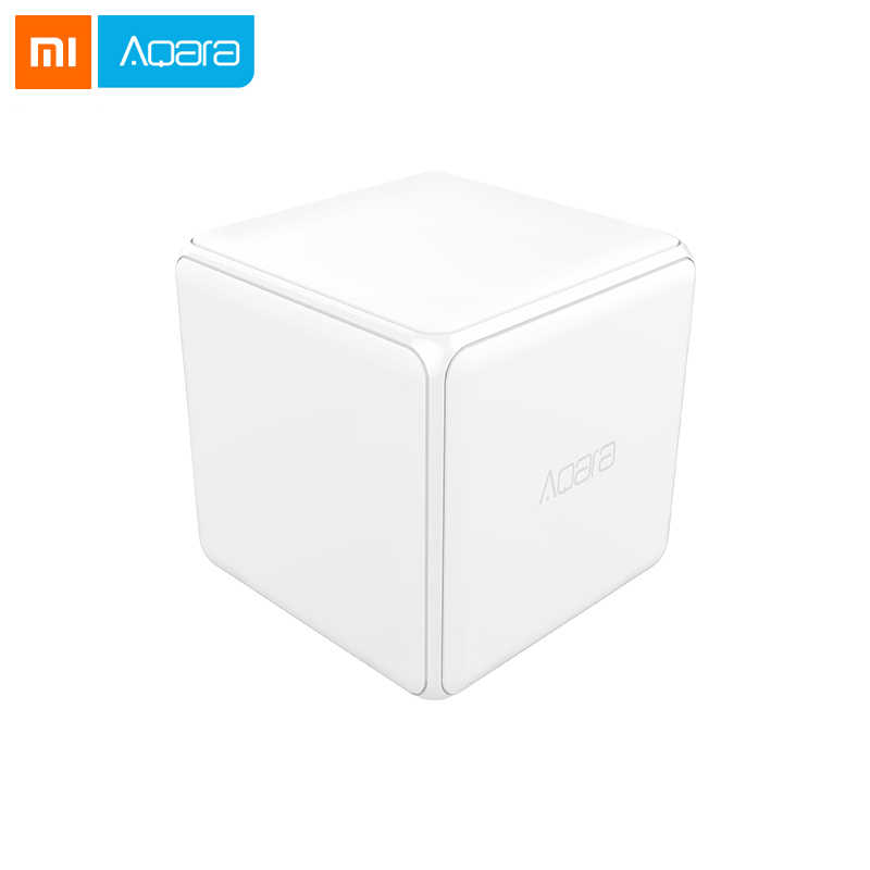 Xiaomi Mi Magic Cube Controller Zigbee Version Controlled by Six Actions For Smart Home Device work with mijia mi home ap'p D5