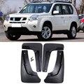 Набор литых автомобильных брызговиков для Nissan X-Trail T31 2008-2013 Xtrail Брызговики крыло брызговиков 2009 2010 2011 2012