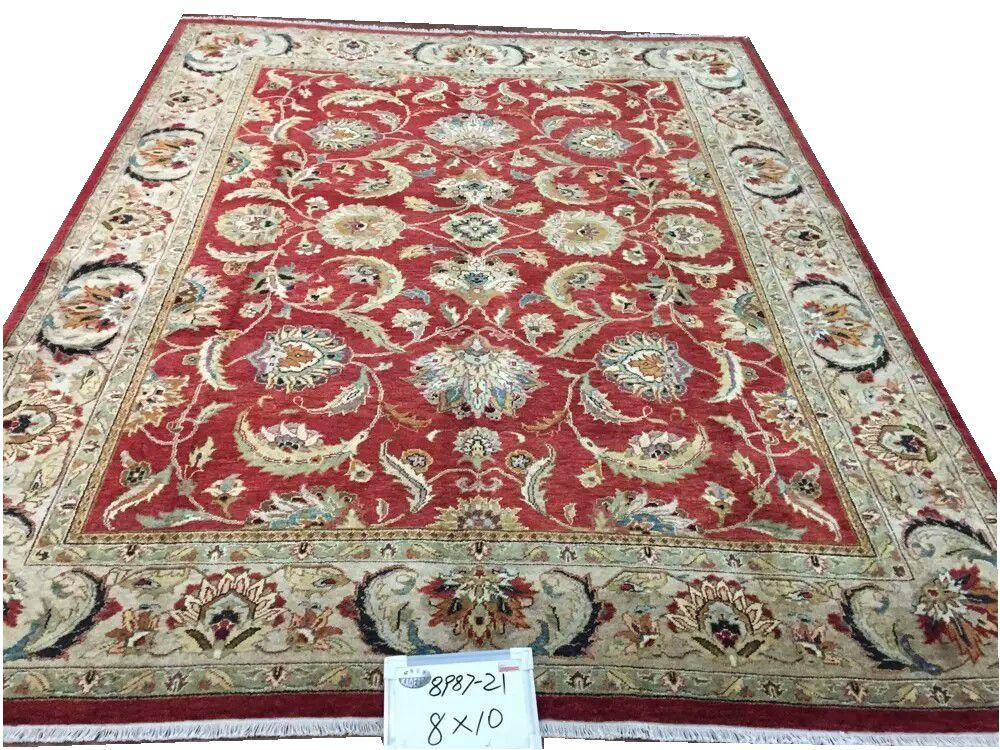 Tapis turc fait à la main Antique décor décoration de la maison Antique Vintage Serapi laine à tricoter tapis