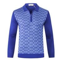 TACE&SHARK wool sweater men's 2018 New fashion Pattern zipper Business casual warm lapel high quality Size M 5XL free shipping