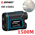 SNDWAY laser rangefinder hunting monocular telescope 1500M astronomic golf trena laser meter distance measure speed-Height-angle