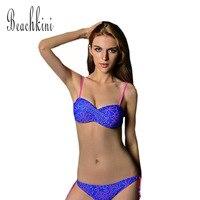 2015 Sexy Hollow Out Bikinis Set Ladies Twist Bandeau Top Bikini Swimwear Four Colors Swimsuit Triangle