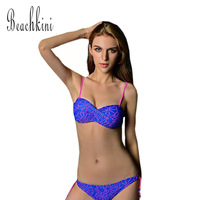 2015 Sexy Hollow Out Bikinis Set Ladies Twist Bandeau Top Bikini Swimwear Four Colors Swimsuit Triangle