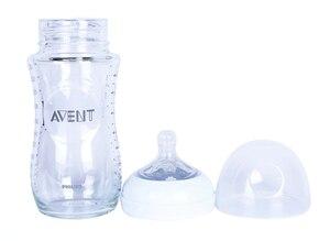Image 3 - Original AVENT Natürliche Glas Flasche Avent Fütterung Flasche 8 unzen 240ml 1M +