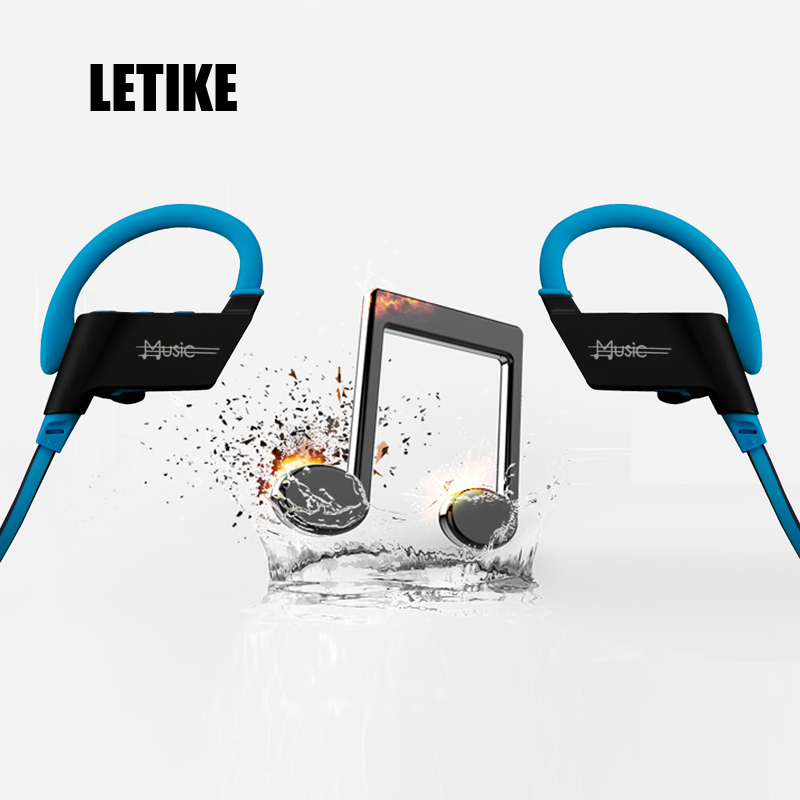 LETIKE 4.1 Bluetooth Headset Headphones Wireless Headphone Microphone AptX Sport Earphone for iPhone Android Phone new dacom carkit mini bluetooth headset wireless earphone mic with usb car charger for iphone airpods android huawei smartphone
