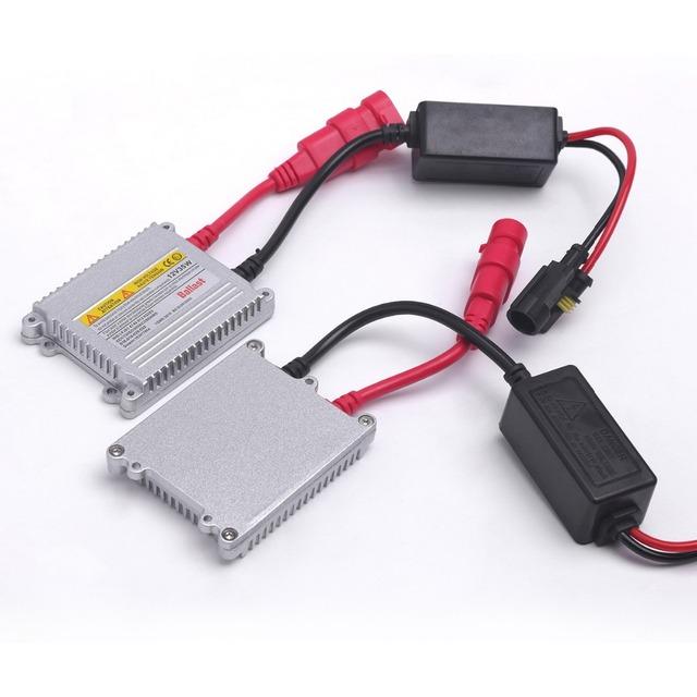 2pcs 35W Digital Slim Hid Ballast 55w Blocks Ignition Electronic Ballast For HID Kit Xenon H7 H4 H1 H3 H11 Hid Xenon Ballast 12v