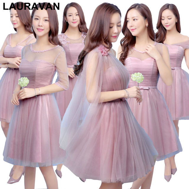 Robe De Soiree Beautiful Blush Colored Bridemaids Dresses S Sweetheart Bridesmaid Dress Ball Gown To Party