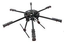 F07554 3K Carbon Fiber 700MM Folding Rack Frame Kit 6-Axle X700 for RC Hexacopter Quadcopter FPV