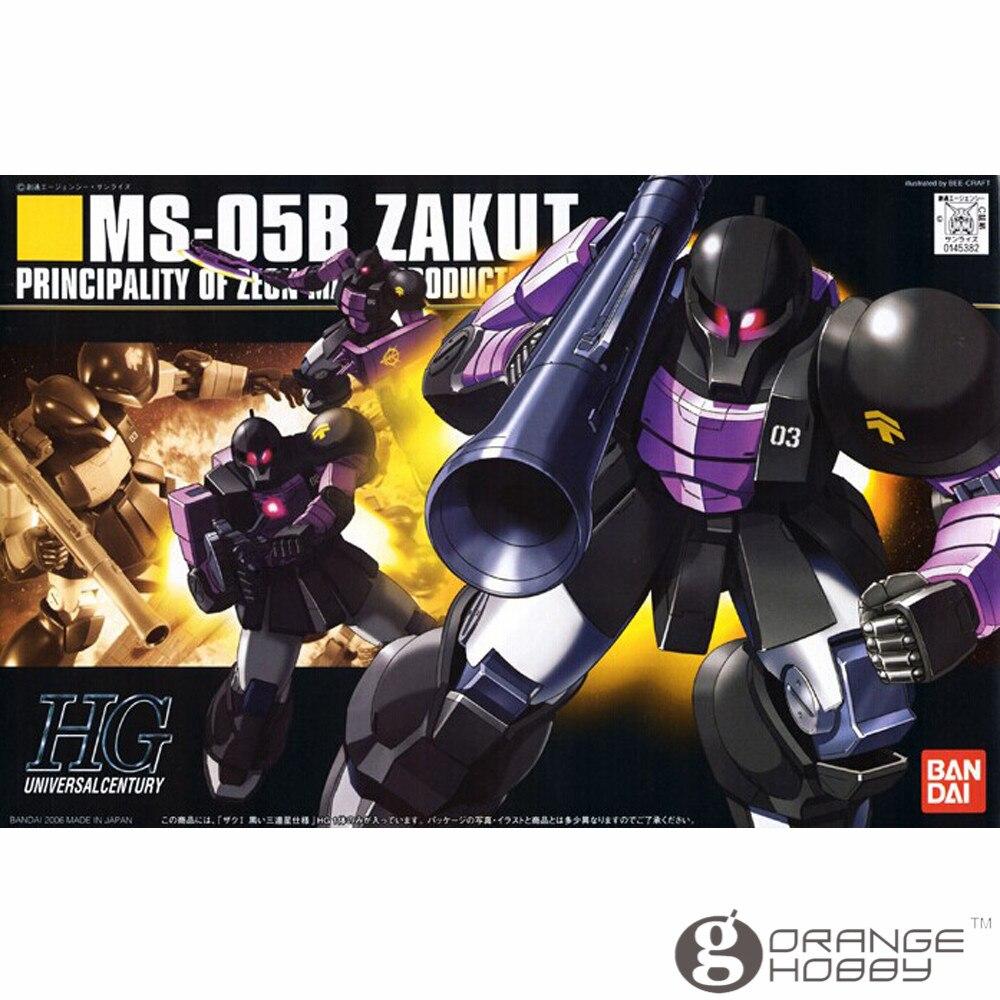₪SST Bandai HGUC 068 1 144 MS-05B Zaku Je Mobile Suit Modèle D ... 77be71da6803