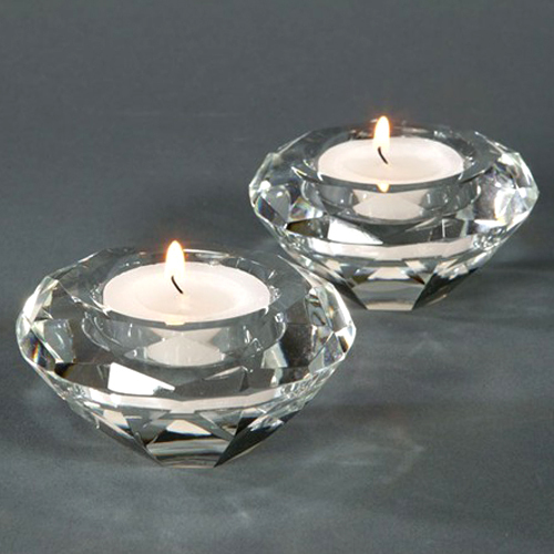 Free Shipping By Dhl Fedex Ups K9 Crystal Candle Holders Tealight