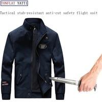 Новый 2019 самообороны безопасности анти вырезать Анти Sta Hack куртка Военный стелс Defensa полиции личной тактики одежды 2 цвета