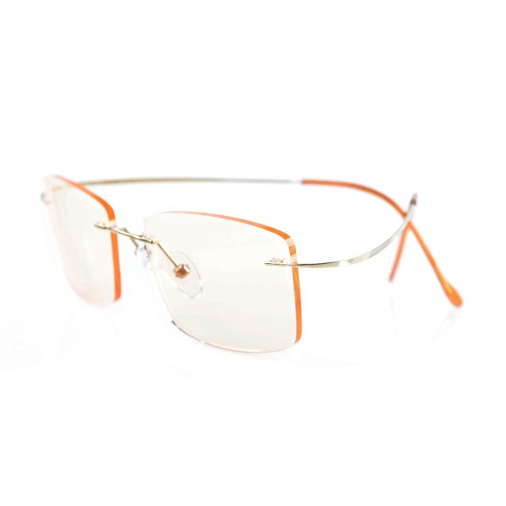 Eyekepper Occhiali ovale da lettura leggero Metà-orlo Gunmetal +3.0 xdsHR