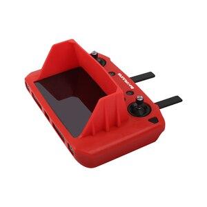 Image 4 - Mavic 2 Akıllı uzaktan kumanda ile ekran silikon koruma kapağı güneş gölge hood dji mavic 2 pro zoom drone