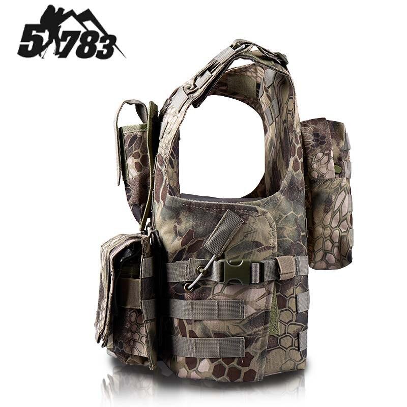51783 ապրանքանիշ FSBE Vest Hunting Army CS Paintball Go - Սպորտային հագուստ և աքսեսուարներ - Լուսանկար 2