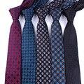 Lazos de los hombres 6 cm corbata formal vestidos sexy Accesorios Del Vestido de boda lazo Masculino A Cuadros de Moda Masculina de negocios Camisa teclado regalo