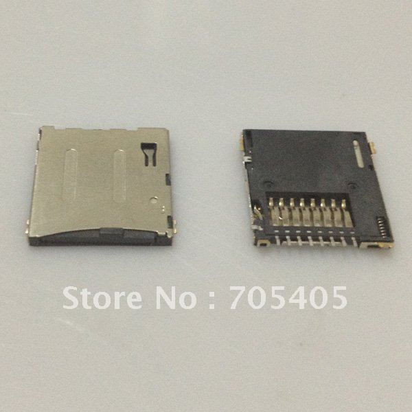 TF card adapter, ultra-thin, 1.5 thick memory card connector, PUSH, micro sd card socket,Self-bomb