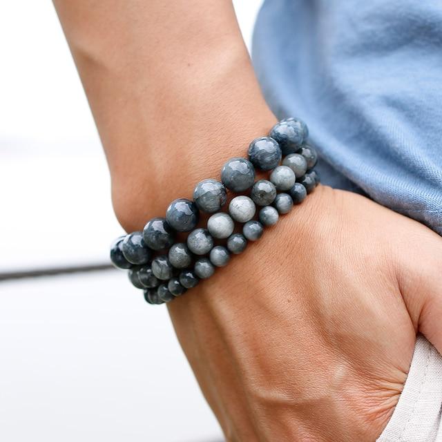 Bracelet Homme Oeil De Faucon PPJ