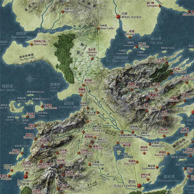 Vintage Map Poster  2