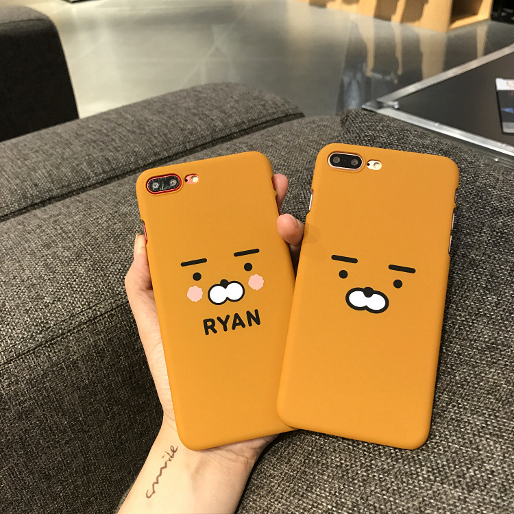 For iphone 7 Case Cute Couple Bear Hard PC Back Covers Skin For iphone 6 6s 7 Plus Case Fundas Shell