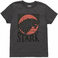Game Of Thrones HOUSE OF STARK DISTRESSED DIREWOLF SIGIL T Shirt NWT Licensed Summer Men'S fashion Tee 2019 fashion t shirt