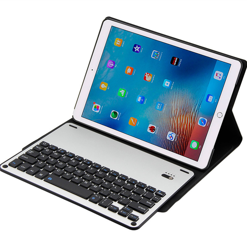 For Apple iPad Pro 10.5 Keyboard Case Coque Ultra Slim Detachable Bluetooth Aluminum Keyboard PU Leather Cover Stand Tablet Case for ipad pro 12 9 keyboard case magnetic detachable wireless bluetooth keyboard cover folio pu leather case for ipad 12 9 cover