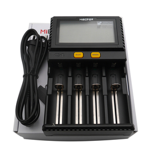 Image 3 - Wholesale LCD Smart Battery Charger Miboxer C4 for Li ion IMR ICR LiFePO4 18650 14500 26650 21700 AAA Batteries 100 800mAh 1.5A