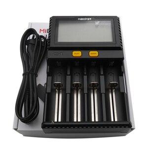 Image 3 - 卸売液晶スマートバッテリー充電器miboxer C4 リチウムイオンimr icr LiFePO4 18650 14500 26650 21700 aaa電池 100 800mah 1.5A