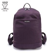 Fido Dido нейлон Водонепроницаемый рюкзак Женские однотонные Цвет картины школьные рюкзаки для девочек рюкзак женский рюкзак!