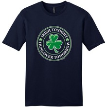 Shirt Maker O-Neck Irish Tonight Hungover Tomorrow Short Sleeve Compression T Shirts For Men