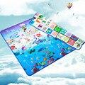 Детские Игрушки Пены детская Игровая Коврик Дети Ковер Ковер для Детей Письмо Рай для Животных, Безопасности Дети Поднимитесь Одеяло
