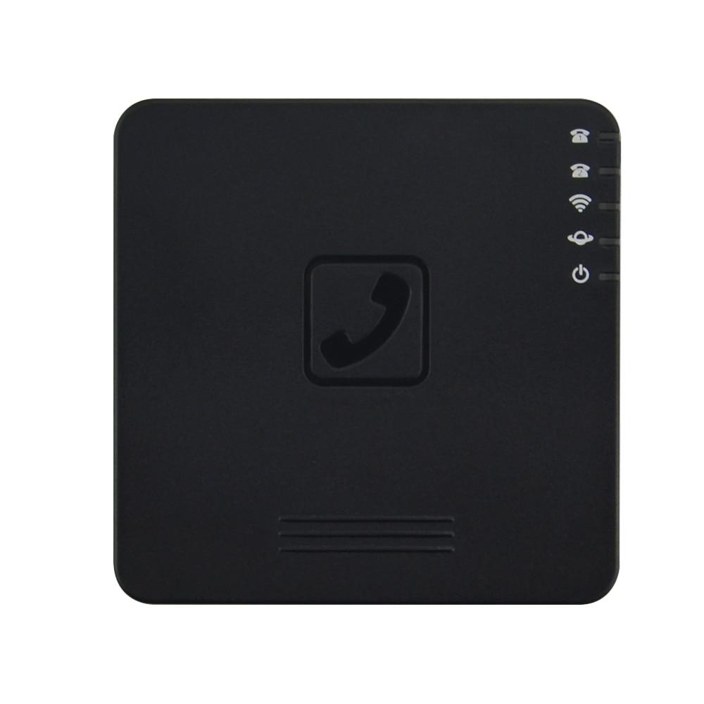 Livraison rapide! routeur sans fil VoIP avec 2 ports voix sur IP GT202 SIP Gtalk passerelle sans fil ATA GT202