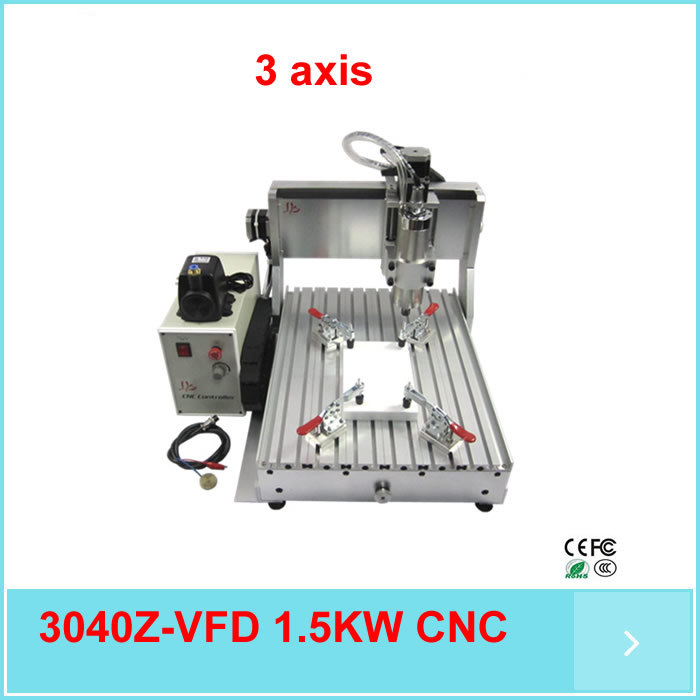 Hot Sale! Mini cnc 3040 cnc router price, 3 axis 1.5kw spindle water cooled cnc engraving machine hot sale mini 4 axis wood cnc router cnc
