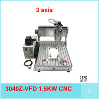 Hot Sale Mini Cnc 3040 Cnc Router Price 3 Axis 1 5kw Spindle Water Cooled Cnc