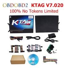 New Released No Tokens Limit KTAG V2.23 V7.020 Master Version K TAG 7.020 ECU Chip Tuning For Truck/Heavy Duty K-TAG V7.020