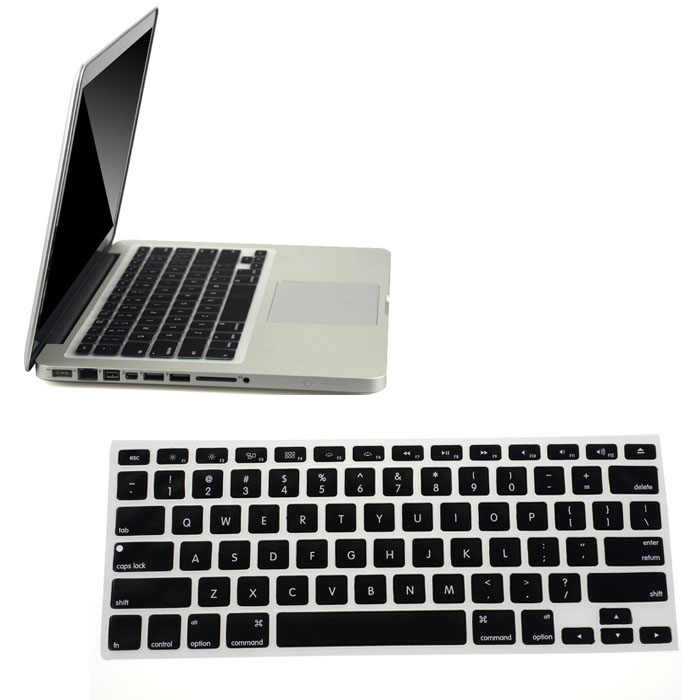 Coque de protection pour clavier en Silicone pour Apple Macbook Pro MAC 13 15 Air 13 autocollants pour clavier souples 9 couleurs # T3